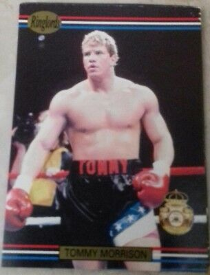 Tommy Morrison Ringlords Card