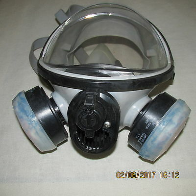 Survivair Series 3000 HT Full Facepiece Air Purifying Respirators USED