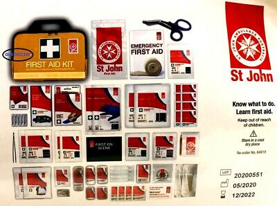 St John Ambulance Medium First Aid Kit-Nationally OH&S WH&S Compliant 2018