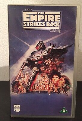 Star Wars The Empire Strikes Back (VHS - 1425 - english)
