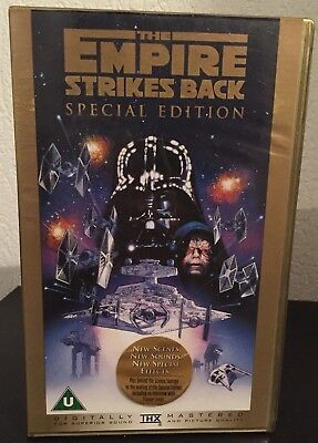 Star Wars The Empire Strikes Back (VHS - Special Edition  - english)