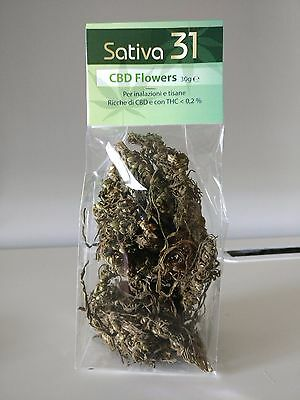 Kanalife - Sativa 31 - CBD Dried Flowers - 3% CBD - 30gr