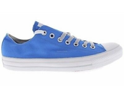 b4277d6c173 Converse Chuck Taylor All Star Sneakers Mens 12 Womens 14 OX CT Blue Canvas  Shoe