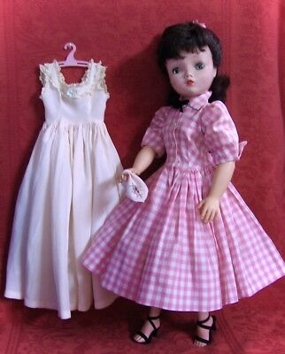 2 Darling Vintage 56 Tagged Outfits Made By Madame Alexander For The Cissy Doll
