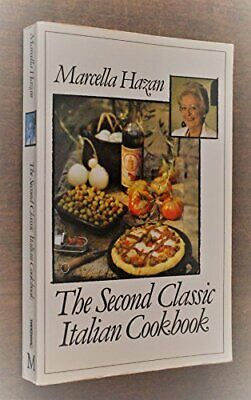 The Second Classic Italian Cookbook by Hazan, Marcella Paperback Book The Cheap