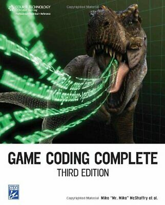 Game Coding Complete, 3rd by Mike McShaffry Paperback Book The Cheap Fast Free