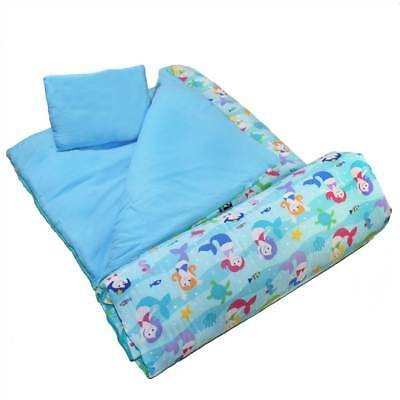 Olive Kids Mermaids Washable Sleeping Bag w Travel Pillow [ID 64984]
