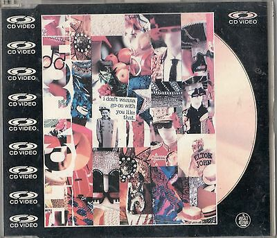ELTON JOHN-I Don't Wanna Go On With You Like That-CD VIDEO (laser disc) PAL-NEW