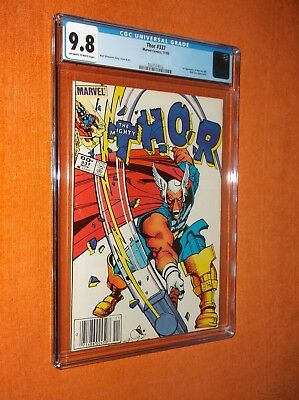 THOR #337 CGC 9.8 {1st Beta Ray Bill app.} - High grade w/super-bright cover!!!