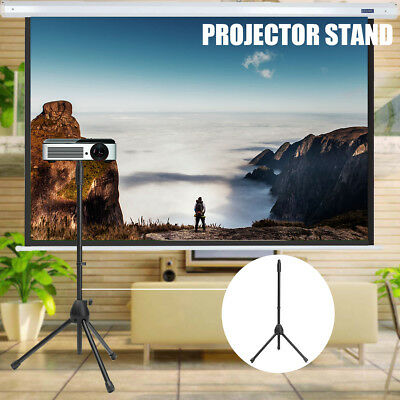Folding Adjustable 75cm-148cm Projector Stand Mobile Phone Stand Portable Tripod
