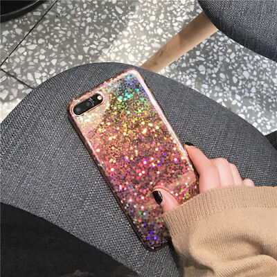 Glossy Laser Glitter Shockproof Phone Case Cover for Apple iPhone X 8 7 6 XS MAX