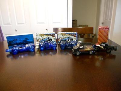 Avon Vintage Car Decanters Lot of 5 Full/Empty in Original Boxes
