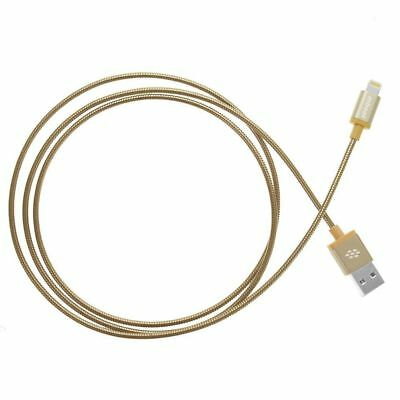 mbeat Metal Braided MFI Lightning Cable (Gold) Free Shipping!