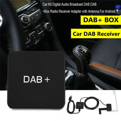 Portable Digital Car Kit DAB DAB+ Radio Receiver Adapter USB Charger for Android