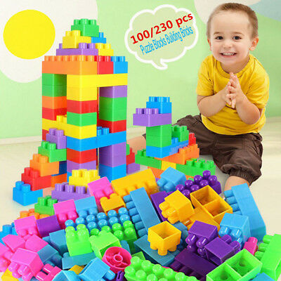 100Pcs Building Blocks City DIY Creative Bricks Educational Toy Gift For Child D
