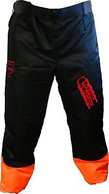 """Logger Clobber Chainsaw Protective Chaps, Seatless Trousers, Leggings 33"""" - 40"""""""