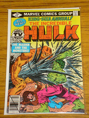 Incredible Hulk Annual #8 Vol1 Marvel Comics 1979