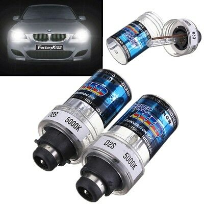 2X 35W D2S/D2C Xenon HID Headlight Light Replace Globe Bulb 4300K 5000K 6000K