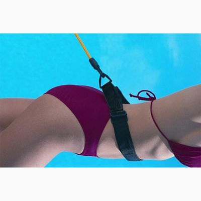 Swim Bungee Trainer Belt Swimming Resistance Leash Stationary Swimming System AU
