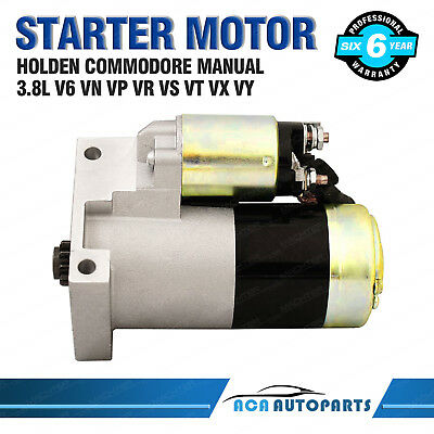 Starter Motor for Holden Commodore VN VP VR VS VT VX VY 3.8L V6 Statesman Manual