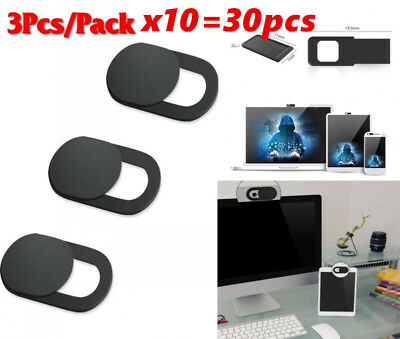 30X WebCam Shutter Covers Web Laptop iPad Camera Secure Protect your Privacy Lot
