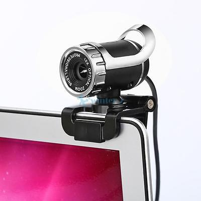 USB 12 Megapixel HD Webcam Web Cam Camera & Microphone Mic For PC Laptop Skype