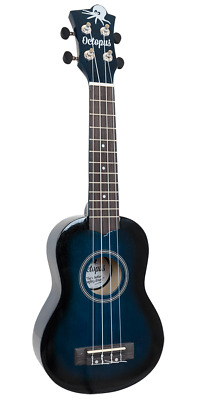 Octopus Soprano Ukulele - Dark Blue Burst