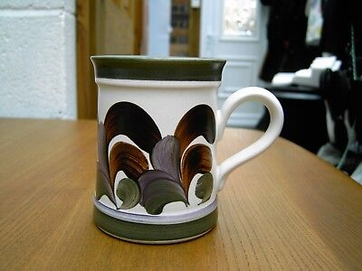 Vintage 1970's Denby Mug By Trish Seal In Good Clean Condition FREE UK POSTAGE