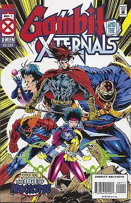 Gambit and the Xternals #1 NM (Mar 1995, Marvel) - Movie Coming!