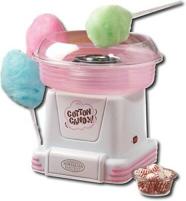 Electric Commercial Cotton Candy Maker Pink Machine