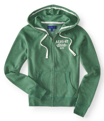 aeropostale womens aero-87 athletic full-zip hoodie