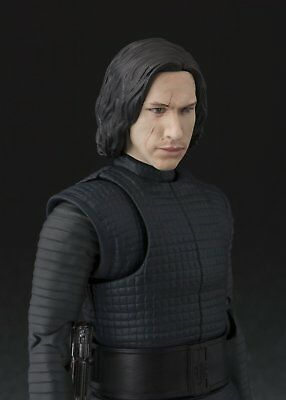 BANDAI S.H.Figuarts Star Wars KYLO REN (The Last Jedi) JAPAN OFFICIAL IMPORT