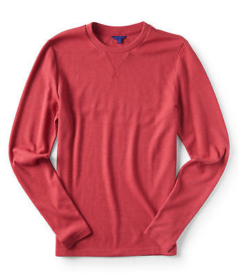 aeropostale mens long sleeve aero thermal crew tee