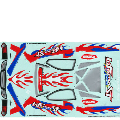Dekorbogen 1:8 Inferno ST US Sports Kyosho ISB-50-US # 703352