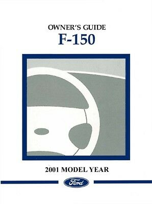 2015 ford f 150 truck owners manual user guide reference operator rh picclick com 2001 ford f150 4.2 owners manual 2001 ford f150 supercrew owners manual pdf