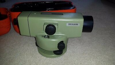 Leica wild heerbrugg  NA2 automatic precise level.Very good condition.Calibrated