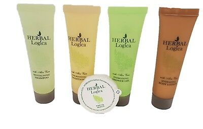 HerbaLogica Convenient Travel Kits Shampoo Shower Gel Boy Lotion Conditioner