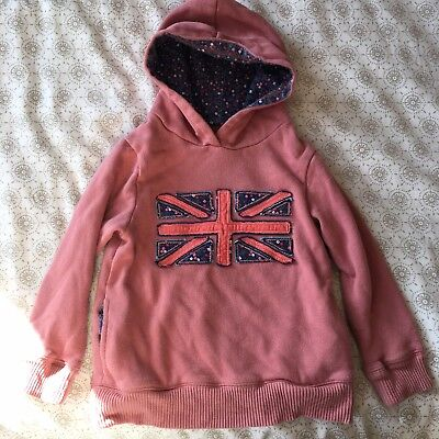 Mini Boden Girls Hoodie Jumper 4-5