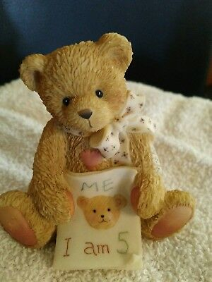 """Cherished Teddies AGE 5 """"Color Me Five""""   Collectible 911291"""