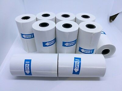 10/50/100/200 Pcs 57x30mm Eftpos Rolls Cash Register Receipt Thermal Paper