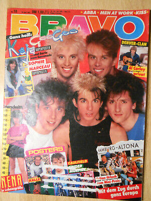 Bravo 18/1983  ABBA, KISS, Falco, Nena  -  TOP