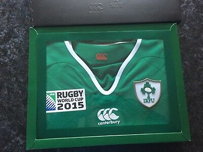Canterbury Rugby World Cup 2015 Ireland Top Size L NEW