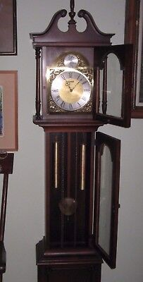 Grandmother / Grandfather Westminister Chime Clock Barwick Miller US & Germany