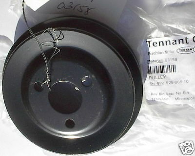 """NEW Double Pulley Tennant #03158, 4.125"""", 3.75"""", .375 V"""