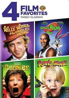 Willy Wonka And The Chocolate Factory/space Jam/the Goonies/dennis The Menace Ne