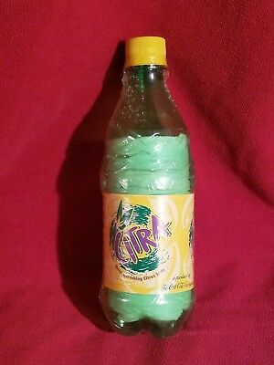 1998 Coca-Cola Citra bottle with t-shirt