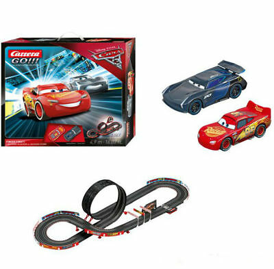 Disney Pixar Cars 3 Finish First Carrera GO!!! 1:43 Scale Slot Car Racing Track