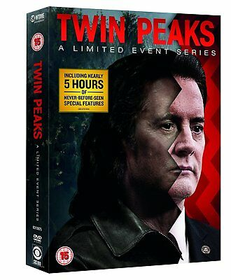 TWIN PEAKS (2017): A Limited Event 'The Return' - TV Season Series R2 DVD not US
