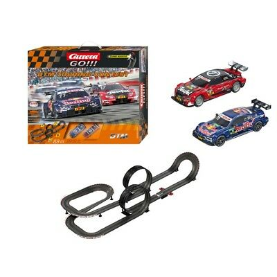 DTM Touring Contest Carrera GO!!! 1:43 Slot Car Racing Track Set