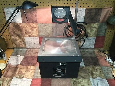 Bell & Howell model 3860A Still Picture Projector, Overhead Projector